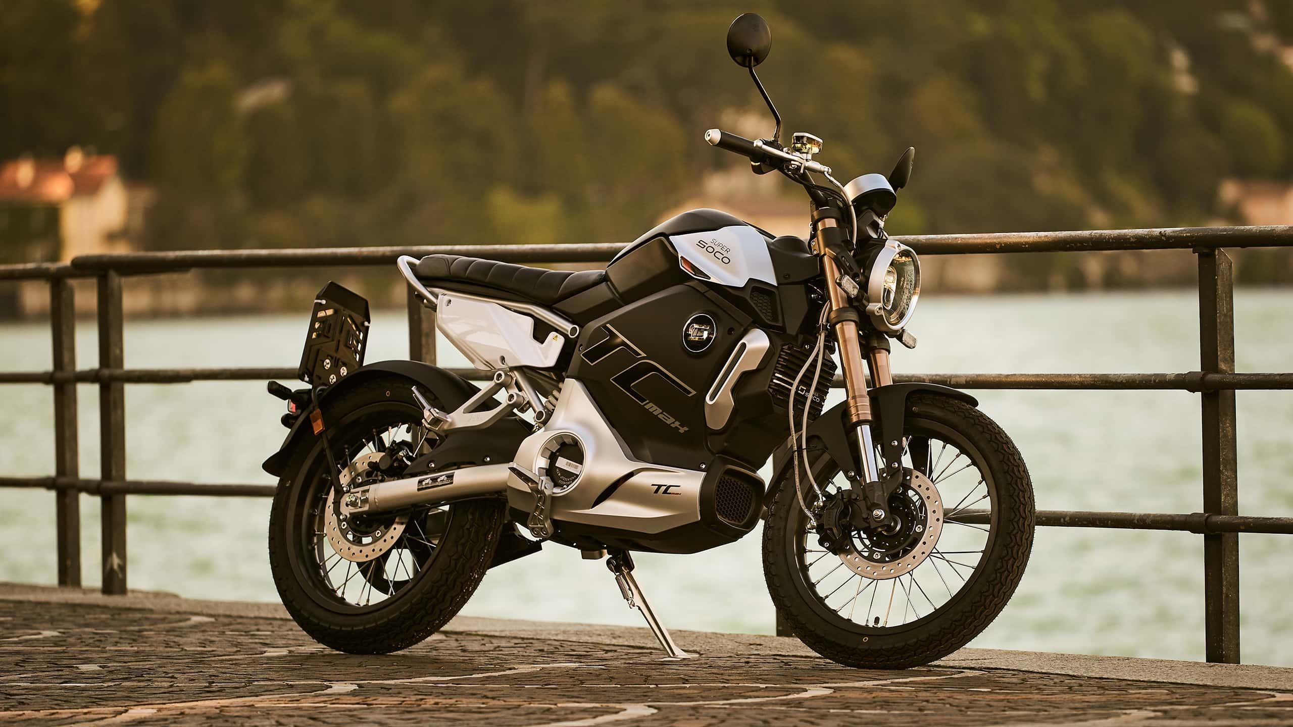 SUPER SOCO electric motorcycle TC MAX